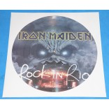 Iron Maiden - Rock In Rio - Picture Disc Promo - UK